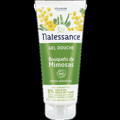 Gel douche - Bouquets de Mimosas - Natessance - Hygiène