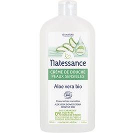 Aloe vera shower cream - sensitive skin - Natessance - Hygiene