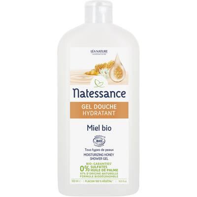 Gel douche hydratant Miel bio - Natessance - Hygiène