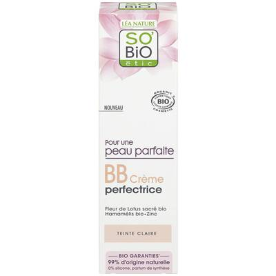 BB Cream Perfectrice - Pour une peau parfaite - Claire - So'bio étic - Maquillage