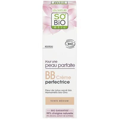 BB Cream Perfectrice - Pour une peau parfaite - Medium - So'bio étic - Maquillage