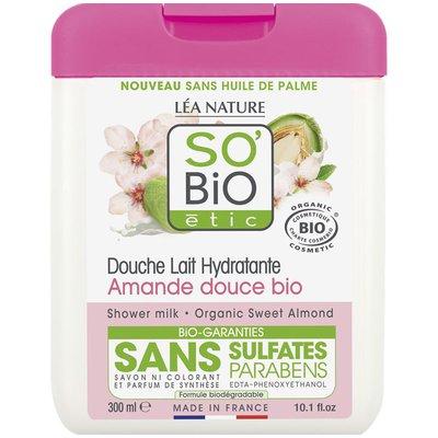 Douche lait hydratante - amande douce - So'bio étic - Hygiène