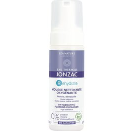 Mousse nettoyante oxygénante - Rehydrate - Eau Thermale Jonzac - Visage