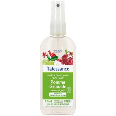 Lotion démêlante capillaire - Pomme-Grenade - Natessance - Cheveux