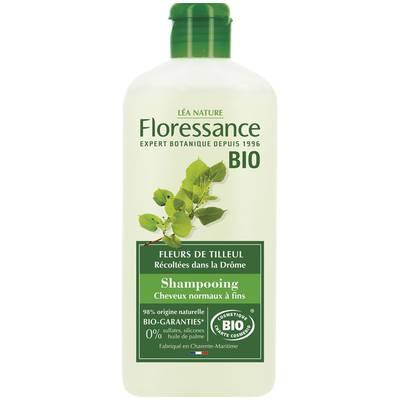 Shampooing feuilles de Tilleul - cheveux normaux à fins - Floressance - Cheveux