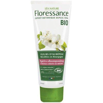 Après-shampooing fleurs d'aubépine - Cheveux colorés ou méchés - Floressance - Cheveux