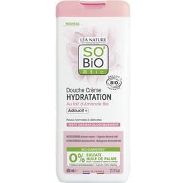 Moisturizing shower cream - Almond milk - So'bio étic - Hygiene
