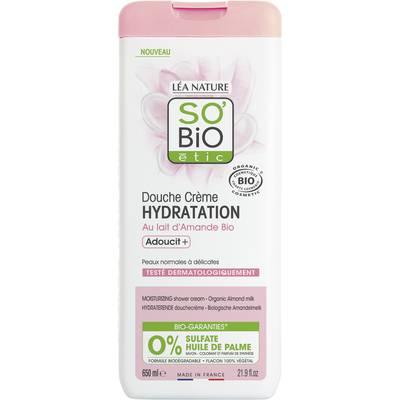 Douche crème hydratation - au lait d'Amande - So'bio étic - Hygiène