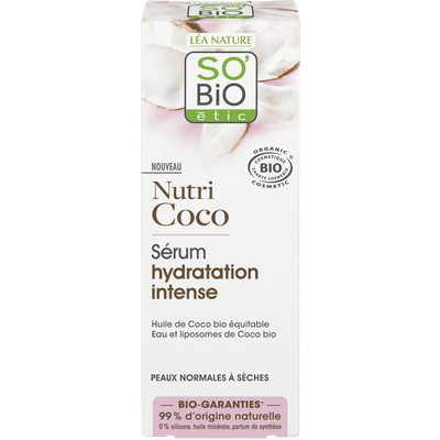 Sérum hydratation intense - Nutri Coco - So'bio étic - Visage