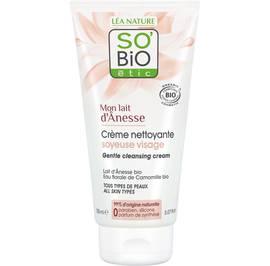 Crème nettoyante soyeuse visage - Mon Lait d'Ânesse - So'bio étic - Visage