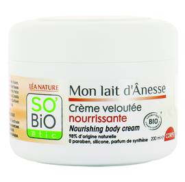 image produit Nourishing body cream - Mon Lait d'Ânesse