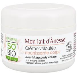 Crème veloutée nourrissante corps - Mon Lait d'Ânesse - So'bio étic - Corps