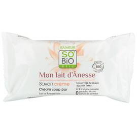 Savon crème - Mon Lait d'Ânesse - So'bio étic - Hygiène