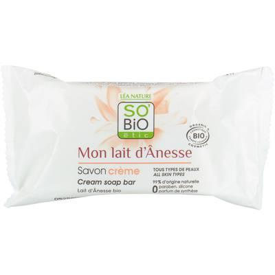 Cream soap bar - Mon Lait d'Ânesse - So'bio étic - Hygiene