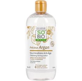 Cleansing toning lotion - Précieux Argan - So'bio étic - Face