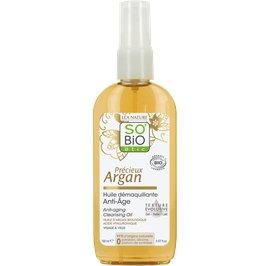 Anti-aging cleansing oil - Précieux Argan - So'bio étic - Face