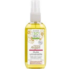 Universal argan oil - Précieux Argan - So'bio étic - Face - Body