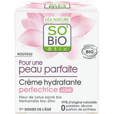 Crème hydratante perfectrice Jour - Pour une peau parfaite - So'bio étic - Visage