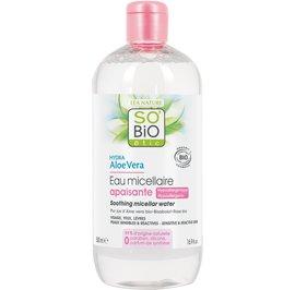 Soothing micellar water, sensitive and reactive skin - Hydra Aloe Vera - So'bio étic - Face