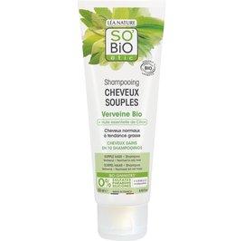 Supple hair shampoo - Vervein and lemon essential oil - So'bio étic - Hair