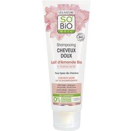 Soft hair - shampoo - almond milk - all hair types - So'bio étic - Hair
