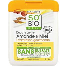 Cream shower - Sweet moisturising with almond and honey - So'bio étic - Hygiene