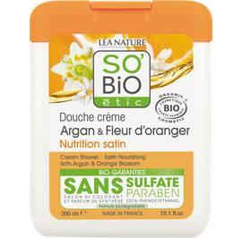 image produit Cream shower - satin nourishing with argan and orange blossom