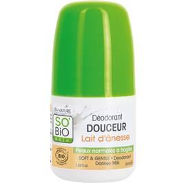 image produit Déodorant douceur lait d'ânesse - Peaux normales à fragiles
