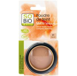 image produit Face powder - velvety matt finish - 01 beige clair