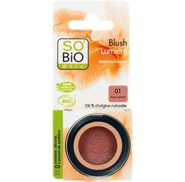 Radiance Blush - 01 light rose - So'bio étic - Makeup