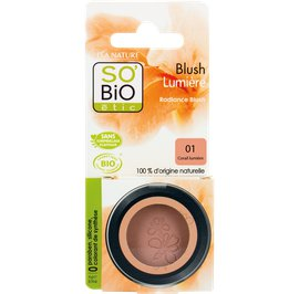 Radiance blush - 02 luminous coral - So'bio étic - Makeup