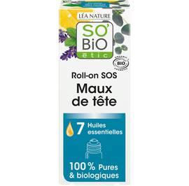 image produit Sos headache roll-on with 7 organic essential oils