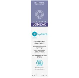 Soin riche onctueux - REhydrate - Eau Thermale Jonzac - Visage