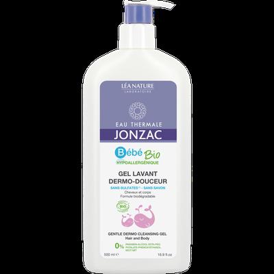 Gentle dermo cleansing gel - Hair and body - Bébé Bio - Eau Thermale Jonzac - Hygiene - Baby / Children