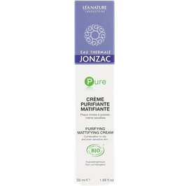 Crème purifiante matifiante - Pure - Eau Thermale Jonzac - Visage