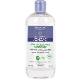 Purifying micellar water, 500 ml - Pure - Eau Thermale Jonzac - Face