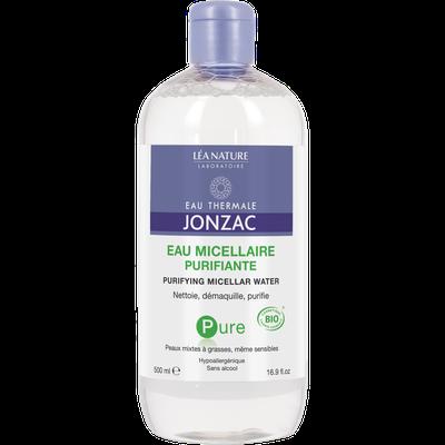 Purifying micellar water, 500 ml - Pure - Eau Thermale Jonzac - Face