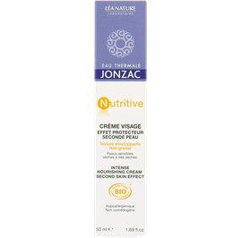 Crème visage effet protecteur seconde peau - Nutritive - Eau Thermale Jonzac - Visage