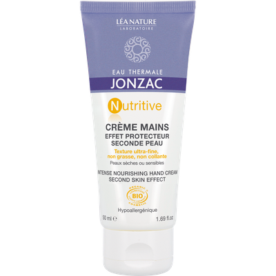 Crème mains effet protecteur, seconde peau - Nutritive - Eau Thermale Jonzac - Corps