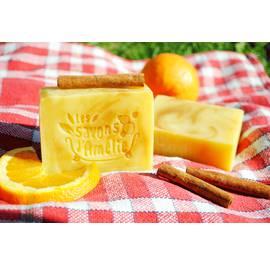 Savon L'Orange Douce - Savon Gourmand Orange - Cannelle - Les savons d'Amélie - Hygiène