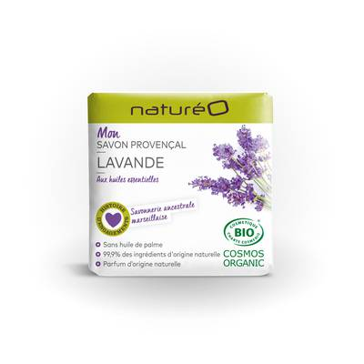 Mon savon provencal Lavande - naturéO - Hygiène