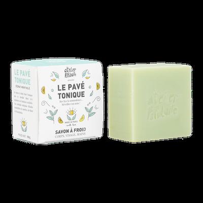 Le Pavé Tonique | Savon à froid - Atelier Populaire - Hygiène