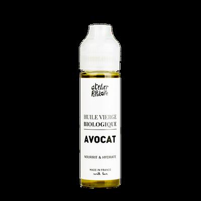 Huile vierge d'Avocat certifiée BIO - Atelier Populaire - 60ml - Atelier Populaire - Ingrédients diy
