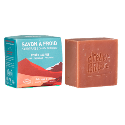 Sacred forest / cold soap - Atelier Populaire - Hygiene