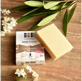 Soft hydrating natural Soap - CAPITAINE - Face - Body - Baby / Children