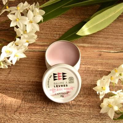 Baume à Lèvres Perle de Rosée - CAPITAINE - Visage