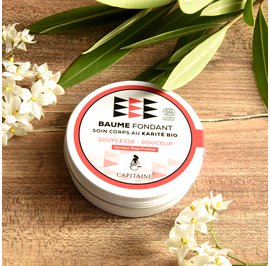 Melting body balm - Capitaine Cosmétiques - Massage and relaxation
