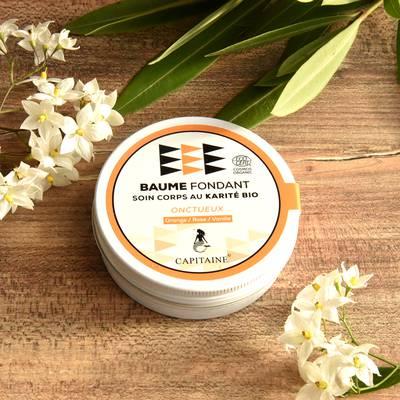Baume Corps Fondant Réparateur Onctueux - CAPITAINE - Massage et détente