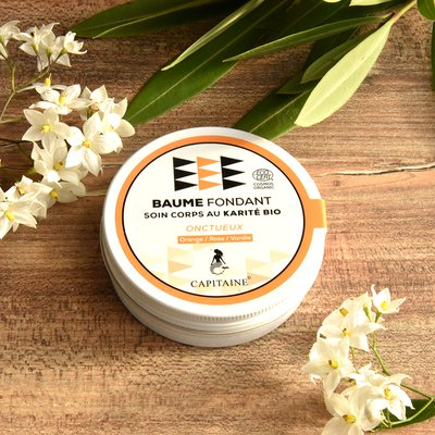 Fixing body balm - Capitaine Cosmétiques - Massage and relaxation