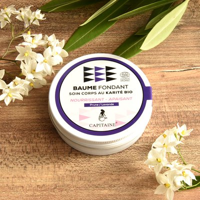 Nurrishing melting body balm - Capitaine Cosmétiques - Massage and relaxation